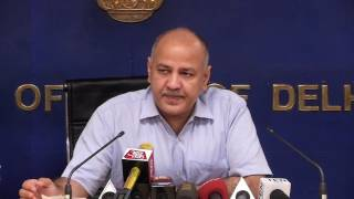Delhi Government Press Brief on Appointment of 2 Ministers