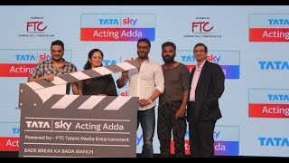 Ajay Devgan & Suniel Shetty At The Launch Of Tata Sky Next Pioneering Initiative