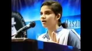funny speech in Urdu university student