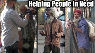 Giving Clothes to these Needy People | Social Awareness Video 2017  | Unglibaaz