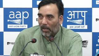 "Aap Press Brief by Delhi Convenor Gopal Rai on the Launch of ""Mera Booth Sabse Majboot"""