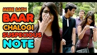 AJ SHAAM BAAR MAI MILTEY HAI !! Comments Trolling-weird Note Prank !! Pranks in India