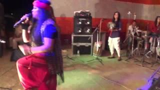 Dehi live by Hurricane - Gals - Assam Girls Band - Assamese Rock fusion Band