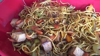 Easy Veg Chowmein Recipe in Hindi | Tofu Chowmein Vegetarian