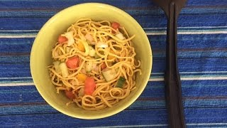 Quick Easy Noodles Bowl Recipe | Better Than Maggi Homemade Noodles Recipe