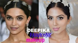 Deepika Padukone Met Gala 2017 Makeup Tutorial I Easy Summer Party Makeup