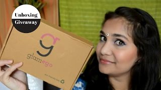 Giveaway + Unboxing Glam Ego Box for the Month of May | Nidhi Katiyar