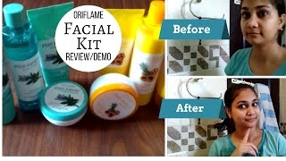 Oriflame Pure Nature Facial Kit - Review & Demo | Nidhi Katiyar
