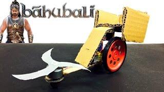BAHUBALI CHARIOT   How to make Bahubali vehicle   DIY