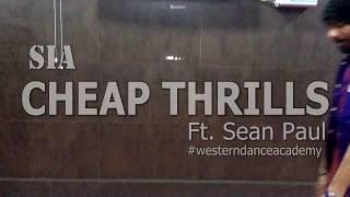 Cheap Thrills Dance Choreography | Sia - Cheap Thrills Ft. Sean Paul | Free Style Dance