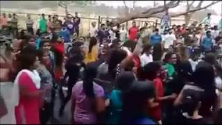 Odisha college students street dance on DJ music-2017