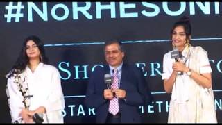 Sonam Kapoor & Rhea Kapoor at Press Showcase of Their High Street Brand Rheson