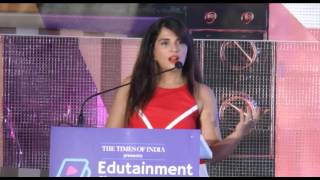 Richa Chadda at 5th Edition of The Edutainment Show 2017