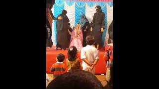 Funny dance in marriage by muslim girl or boys!