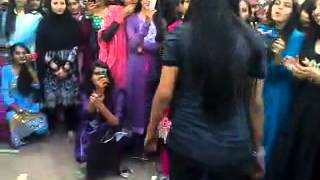 Pakistani Coleg Girl Dance