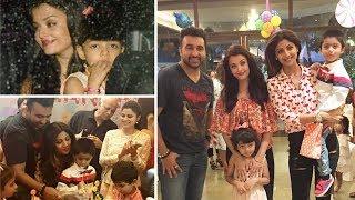 Shilpa Shetty Son Viaan's Birthday Party with Aishwarya, Aaradhya, Sanjay Dutt, Riteish