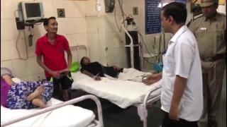 Kejriwal's surprise visit to Delhi Govt hospital