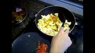 Aloo Gobi recipe : Indian Vegetarian recipe