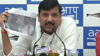 Aap Leaders Brief Media on Democracy is Been affected in the name of Religion
