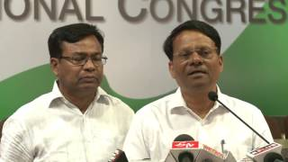 AICC Media Byte By K Raju at congress HQ, May 24, 2017