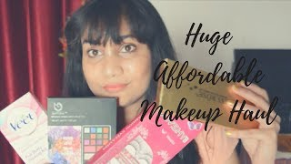 Huge Affordable Makeup Haul 2017