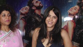 Ekta Looks Relaxed after Flop Films at 'Halfgrilfriend' success bash