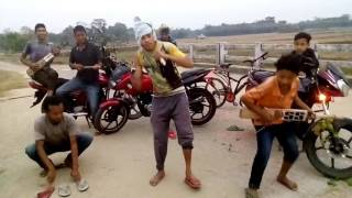 New Assamese most funny music video Desi Superstars dancing.
