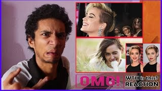 Katy Perry Switched Brain With Miley Cyrus?! |Bon Appétit & Malibu Reaction | Billboard Music Awards