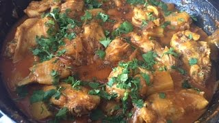 Chicken Potato Curry Dinner Recipe in Hindi | Aloo Murg Masala Recipe Video