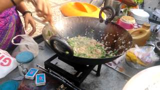 How to make street style Poha (flattened rice)?