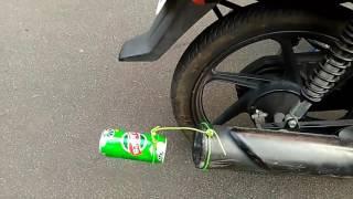 In chennai we discover duke sound in honda dream neo bike