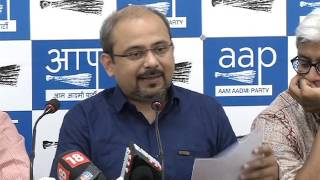 Aap Press Brief on the issue of EVM's Hackathon