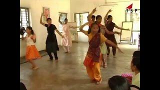 Bharatanatyam dance child dancing performance dance practice #TSP Music World