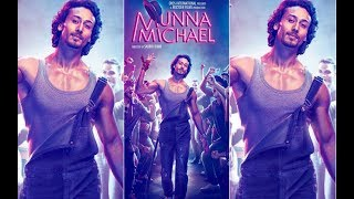 Poster Launch Of Munna Michael with Tiger Shroff  Munna Michael