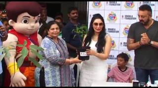 Sanjay Dutt At Tree Plantation & Initiative By MCGM & Bhamla Foundation Part 1