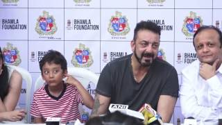 Sanjay Dutt At Tree Plantation & Initiative By MCGM & Bhamla Foundation Part 2