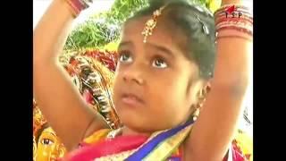 Baby Carries Bathukamma Flowers Bathukamma Song Telangana