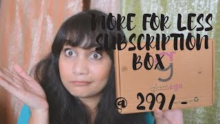 MORE for Less - GLAMEGO BOX @ 299/- | Sea Soul CC Cream Review & Demo | Nidhi Katiyar