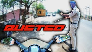 Busted #4 | My RC390 Stopped by Police ! What happened next was a surprise