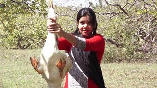 A Girl Cooked Village type Duck Masala Curry | Village Food | TSP Tasty Food Recipes