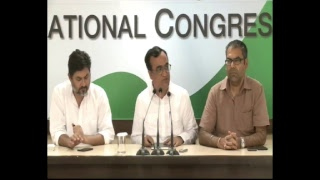 AICC Press Briefing By Ajay Maken at Congress HQ, June 05 2017