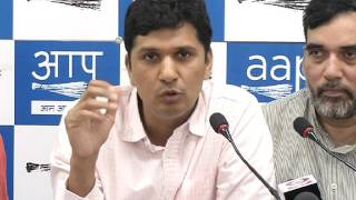 Aap Chief Spokesperson (Delhi) Brief's Media on EVM Challenge