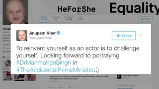 Accidental PM-Anupam Kher as Manmohan Singh