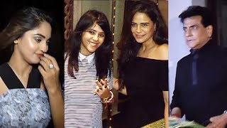Ekta Kapoor's GRAND BIRTHDAY Bash - Full Video - Mona Singh, Krystle D'Souza, Jeetendra, Tusshar