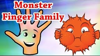 Monsters finger family | Nursery rhymes | Kids songs | Children videos | TSP Rhymes