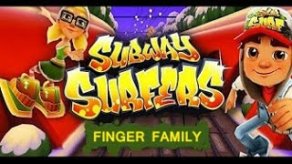 Subway Surfers FINGER FAMILY SONGS || Latest KIDS NURSERY RHYMES ||TSP Kids Rhymes