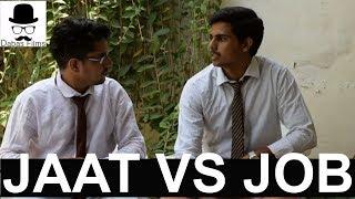 JAAT VS JOB (FUNNY INTERVIEW) | DABAS FILMS | FUNNY HARIYANVI VINES
