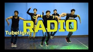 Tubelight - RADIO SONG | DANCE cover | Salman Khan | Kunal | Dance floor studioo