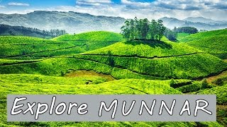 Munnar ride - Best destination of romance in India - Time lapse video