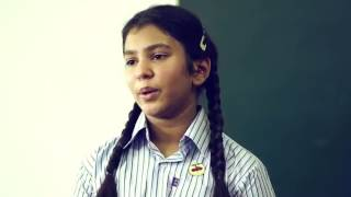 Beti bachao beti padhao speech of brave girl in classroom.. You must watch it..